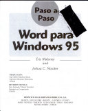 Word Para Windows 95 Paso (Hi
