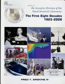 A History of the Acoustics Division of the Naval Research Laboratory