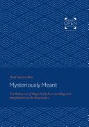 Mysteriously Meant [Pdf/ePub] eBook