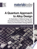 A Quantum Approach to Alloy Design Book