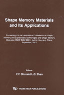 Shape Memory Materials and Its Applications