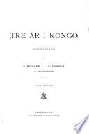 Tre år i Kongo