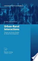 Urban-Rural Interactions