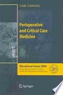 Perioperative and Critical Care Medicine Book