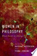 Women in Philosophy Book