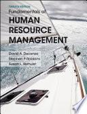 Fundamentals of Human Resource Management, 12th Edition