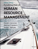 Fundamentals of Human Resource Management  12th Edition Book