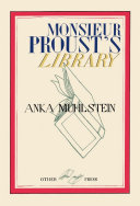 Proust's Library