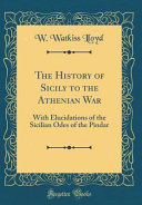 The History of Sicily to the Athenian War