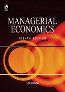 Managerial Economics  8th Edition
