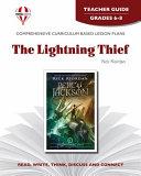 The Lightning Thief Teacher Guide Book