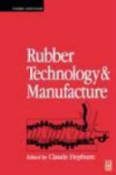 Rubber Technology and Manufacture Book