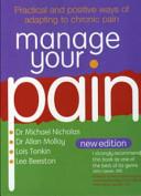 manage your pain tonkin lois beeston lee nicholas dr michael molloy dr allan