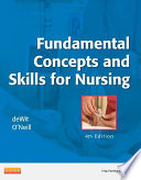 """""""Fundamental Concepts and Skills for Nursing E-Book"""" by Susan C. deWit, Patricia A. Williams"""