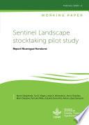 Sentinel Landscape stocktaking pilot study