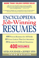 Encylopedia of Job-winning Resumes