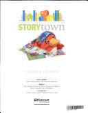 Storytown Grade K Book