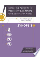 Increasing Agricultural Productivity and Enhancing Food Security in Africa