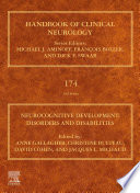 Neurocognitive Development  Disorders and Disabilities