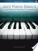 Jazz Piano Basics   Book 1