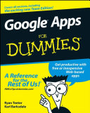Google Apps For Dummies Pdf/ePub eBook