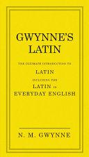 Gwynne's Latin Pdf/ePub eBook