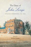 The Diary of John Longe (1765-1834), Vicar of Coddenham