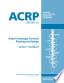 Airport Passenger Terminal Planning and Design  Guidebook