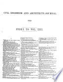 The Civil engineer    and  architect s journal Book