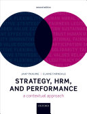 Strategy  HRM  and Performance