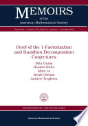 Proof of the 1-Factorization and Hamilton Decomposition Conjectures