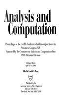 Analysis and Computation