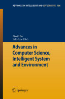 Advances in Computer Science, Intelligent Systems and Environment Pdf/ePub eBook