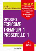 Concours Écricome Tremplin 1 et Passerelle 1 - 4e éd. Pdf/ePub eBook
