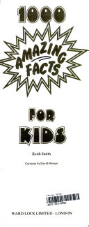 1000 Amazing Facts for Kids