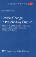 Lexical Change in Present day English