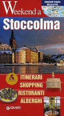 Copertina Libro Stoccolma. Itinerari, shopping, ristoranti, alberghi