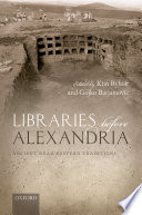 Libraries before Alexandria