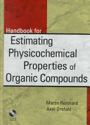 Handbook For Estimating Physiochemical Properties Of Organic Compounds Book PDF