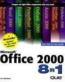 Microsoft Office 2000 8 In 1
