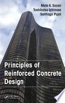 Principles of Reinforced Concrete Design Book