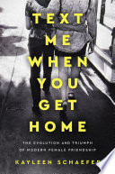 Text Me when You Get Home Book PDF