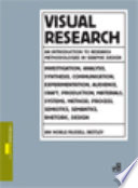 Visual Research  An Introduction to Research Methodologies in Graphic Design