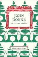 Crane Classics  John Donne