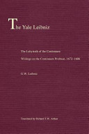 The Labyrinth of the Continuum - Writings on the Continuum Problem 1672-1686