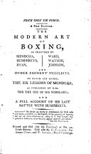 The Modern Art of Boxing