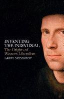 Inventing the Individual Pdf/ePub eBook