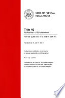 Title 40 Protection of Environment Part 86     86 600 1 to end of part 86   Revised as of July 1  2013