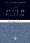 ESV MacArthur Study Bible  Indexed