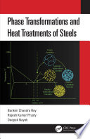 Phase Transformations And Heat Treatments Of Steels Book PDF